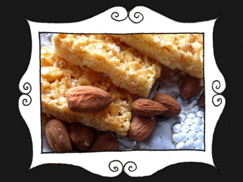 Ciasteczka Shortbread z migdałami