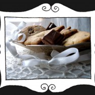 Ciastka z cynamonem i kawałkami czekolady