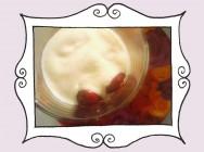 Przepis na Crumble, czyli sos waniliowy z kruszonką i wiśniami