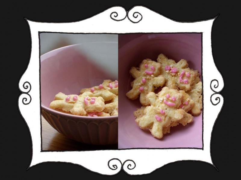 Ciasteczka z cukrem i migdałami