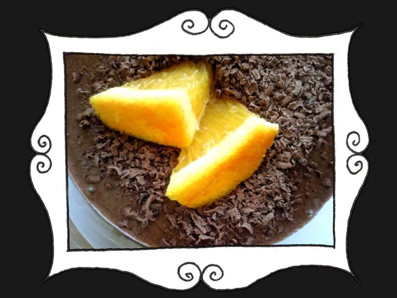Mus czekoladowy z pomarańczą