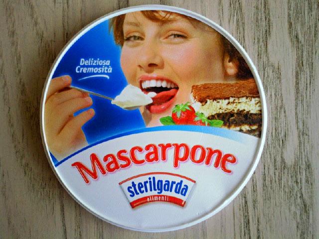 Serek mascarpone firmy Sterilgarda