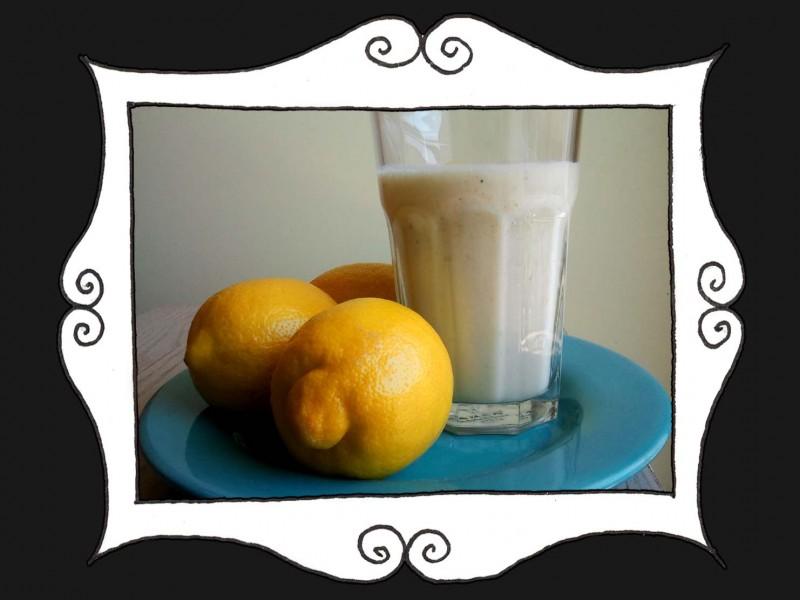 Koktajl bananowo-ananasowy