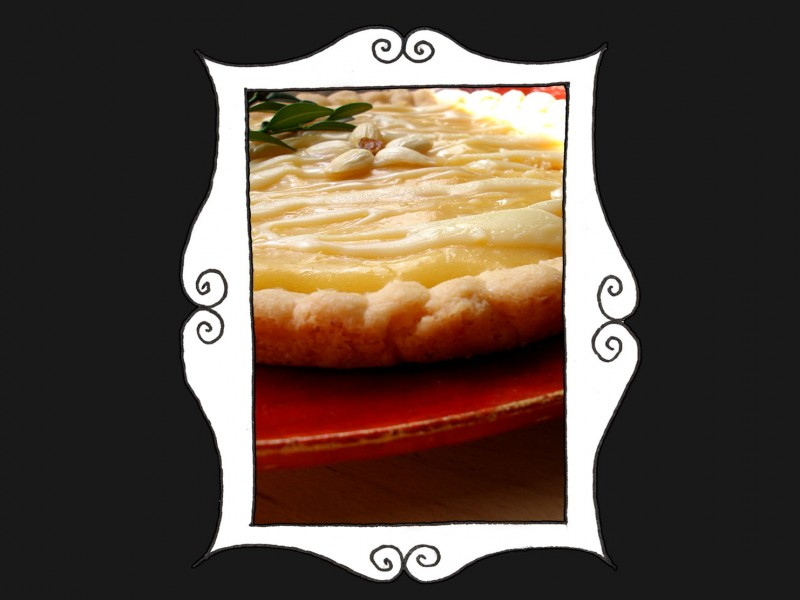 Mazurek cytrynowy z białą czekoladą1