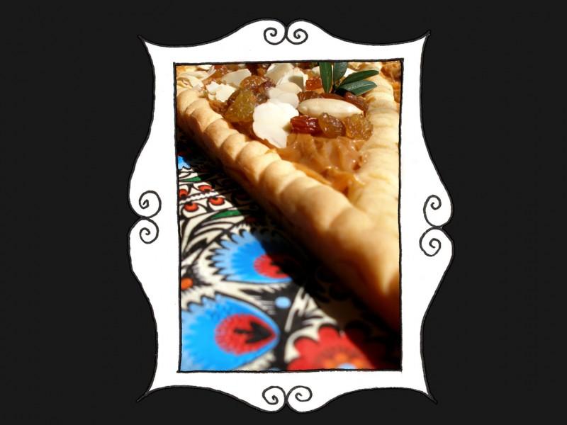 Mazurek z masą kajmakową