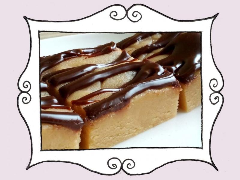 Krówka orzechowa z czekoladą