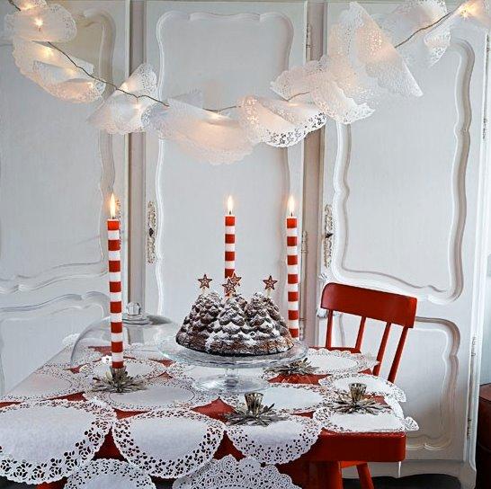 świąteczna stylizacja stołu